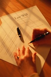 Signing Last Will
