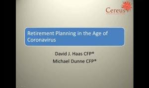 Corona Retirement Webinar Cover