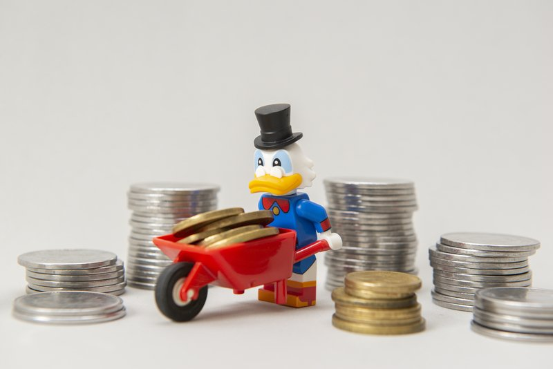 Charitable Giving. Don't be Scrooge McDuck!